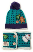 TheWin Fashion Lovely Baby Kids Girls Boys Warm Winter Christmas Knit Crochet Hat, Cyan