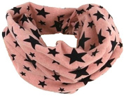 TheWin Children Warmer Star Scarf, Pink