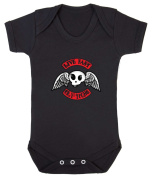 Live Fast Cry Young Babygrow