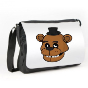 FIVE NIGHTS AT FREDDYS - FACE- MESSENGER/ REPORTER BAG
