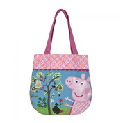 Peppa Pig handbag with two handles in fabric