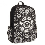 Banned Pentagram Hood Backpack