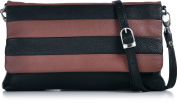 Masquenada Women's Clutch multi-coloured Hellbraun, Rost, Cognac, Schwarz, Bi-Colour, Multi