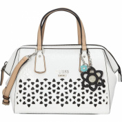Guess Bianco Nero Handle Bag 28 cm