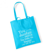 You are my sunshine' Tote Bag Mothers Day Gift Birthday Xmas