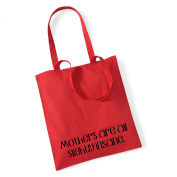 Mothers are all slightly insane' Tote Bag Mothers Day Gift Birthday Xmas