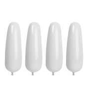 Footful 2 Pairs of Inflatable Ladies Boot Shapers Boot Stand Supports for Mid-Calf Boot White