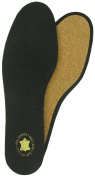 LEATHER & CORK DELUXE INSOLES BLACK