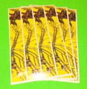 Mossy Oak Obsession Arrow Wraps Blaze Yellow Camo Pkg/12