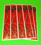 Mossy Oak Obsession Arrow Wraps Blaze Red Camo Pkg/12