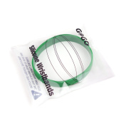 GOGO Silicone Wristbands, Adult-size Rubber Bracelets, Party Favours