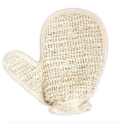 Hot Products Natural Linen Strong Decontamination Bath Mitts
