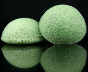 Konjac Sponges 100% Natural - Green Tea