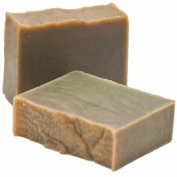3 PACK - Handmade Peppermint and Spirulina Soap - Excellent for dry, sensitive Skin. Suitable for Vegans - Weight