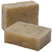 3 PACK - Handmade Lavender and Blue Poppy Seed Soap - Excellent for dry, sensitive skin. Suitable for Vegans - Weight