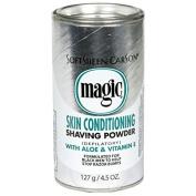 "SoftSheen Carson Magic Shaving Powder ""Silver"" Skin Conditioning With Aloe & Vitamin E 142g"
