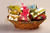 Beauty & Bath Hamper all individually Gift Wrapped in a luxury wicker basket - Perfect gift