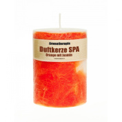 Orange and Jasmine Scented Candle (430 g) - Handmade! Long lasting, over 60 hours!
