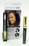 """Irene Gari"" Instant Touch Up To Cover Your Grey Brush In Hair Mascara (Jet Black) 5ml"