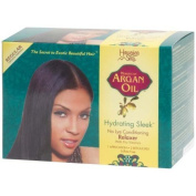 Hawaiian Silky Argan Oil Hydrating Sleek Relaxer Kit Regular by Hawaiian Silky