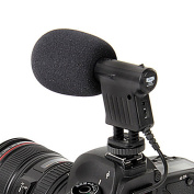 Oxford Street High Quality Photographic Equipment Video Shotgun Microphone- Boya Unidirectional Video Condenser Microphone 38-20,000Hz Broadcast-Quality Microphone 3.5mm Mini-Plug for Canon