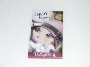 VERITY ROSE 4 EMERY BOARDS WOMAN IN PINK HAT PICTURE COME IN MATCHBOX FLIP CASE