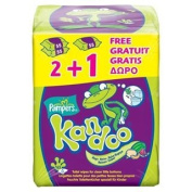 Pampers Kandoo Melon Toddler Wipes 3 x 55 per pack