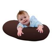 Chocolate Brown 100% Cotton Twill Nursing Pillow Maternity Pregnancy Breast Feeding Cushion
