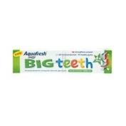 THREE PACKS of Aquafresh Big Teeth Toothpaste