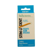 The Natural Dentist Stim-U-Dent Plaque Removers, Thin, Mint Flavour -160 ct.