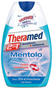 dentifricio + colluttorio al mentolo 2 in 1 da 75 ml