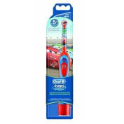 BRAUN ORAL B ADVANCE POWER KIDS BATTERY OPERATED TOOTHBRUSH CARS