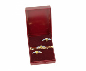 para qualification wings cufflink and tieslide giftset.