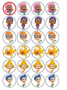 24 Bubble Guppies (#2) Cupcake Cake Toppers