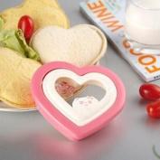 HuntGold 2X DIY Heat Shape Cookie Cutter Plastic Sandwich Toast Bread Mould Maker Tool