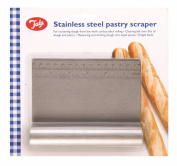 Tala Stainless Steel Pastry Scraper, Silver
