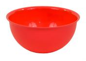Plastic Medium Peach 1 Litre Colourful Mixing Salad Bowl Kitchen