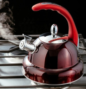 Horwood Stove Top 3.2L Whistle Kettle - Gloss Red