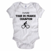 The Classic Image Company Future Tour De France Champion - Cycling / Bike / Novelty Themed Baby Grow/Suit