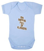 My Nappy's Full of Klingons Babygrow