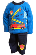 Lullaby Baby Boys Fire Engine Pyjamas