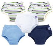 Bambino Mio, Potty Training Pants, Mixed Boy Outer Space, 18-24 Months, 5 Pack