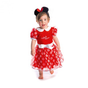 Disney Baby Minnie Mouse Red Dress with Headband