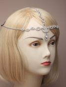 Allsorts® Silver Crystal Head Chain Headband