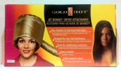 Gold Hot Jet Conditioning Bonnet Dryer Attachment Matte Gold Colour Item# GH9477*