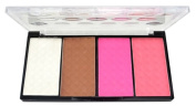 CHIC*MALL Four Colour Pressed Powder Highlight And Contour Powder Shading Make-up Cosmetic