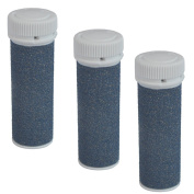iVog Pedi-Luv 200 Extra Coarse Replacement Rollers - 3 Pack