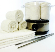 HOT TOWEL STEAMER SET. IDEAL FOR BEAUTY TREATMENTS