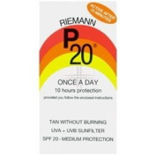 THREE PACKS of Riemann P20 Medium Sun Protection x 200ml