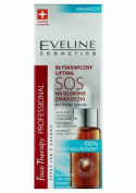 EVELINE SOS face serum instant lifiting 20ml - 100% hyaluronic acid against deep wrinkles